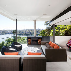Contemporary Patio by MCK Architects