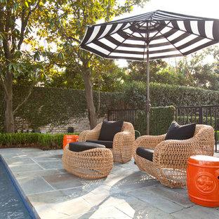 Example of a trendy patio design in Houston