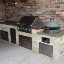 Contemporary Patio by FLO Grills of Austin