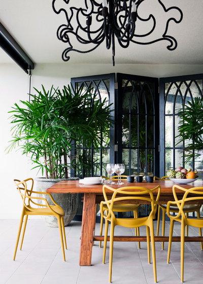 Exotique Terrasse et Patio by Penman Brown Interior Design