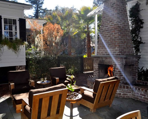 Stand Alone Outdoor Fireplace Home Design Ideas Renovations Photos