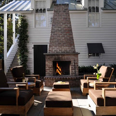 traditional patio by Frederick + Frederick Architects