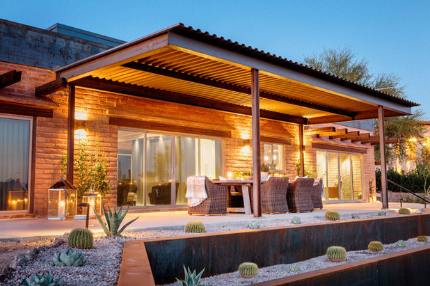 Houzz Tour Industrial Updates To Classic Southwest Style