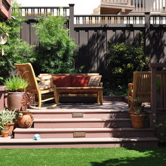 traditional patio by Lazar Landscape Design and Construction