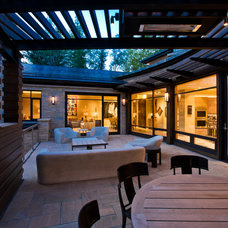 Modern Patio by Poss Architecture + Planning + Interior Design