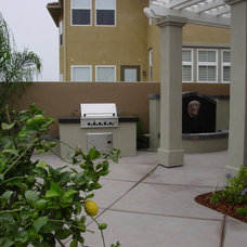 Contemporary Patio by AAA Landscape Specialists, Inc.