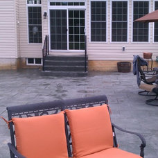 Traditional Patio by R. C. Clark Construction Inc.