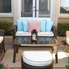Traditional Patio by Simply Tangerine