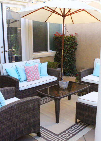 Vintage Traditional Patio by Simply Tangerine