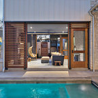 2012 Pool House Transitional Patio Minneapolis By