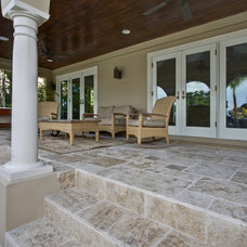 Traditional Patio by Travertine Warehouse