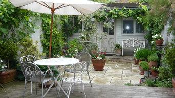 Romantic coutyard