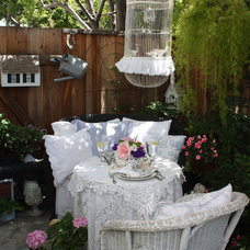 Traditional Patio by My Romantic Home