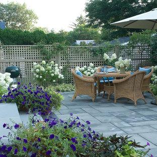 Elegant patio photo in New York