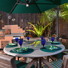 Tropical Patio by Tim Nelson | Willis Allen Real Estate
