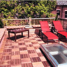 Traditional Patio by New England Design & Construction