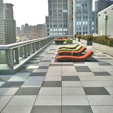 Modern Patio by W. David Seidel, AIA - Architect