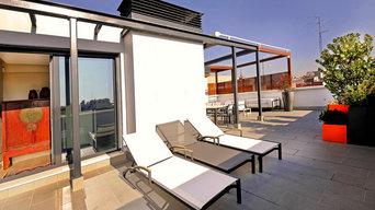 Roofgarden in Madrid