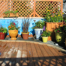 Contemporary Patio by 4 Seasons Painting & Landscaping