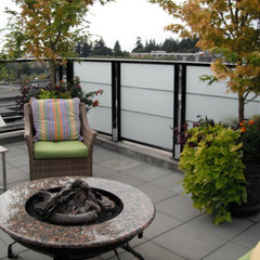 contemporary patio by Glenna Partridge Garden Design