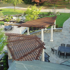 Traditional Patio by Karen Beam Architect LLC