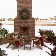 Traditional Patio by CL Design-Build, Inc.