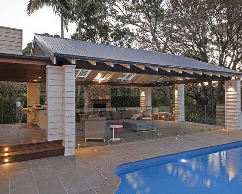 outdoor patio gazebo houzz. Black Bedroom Furniture Sets. Home Design Ideas