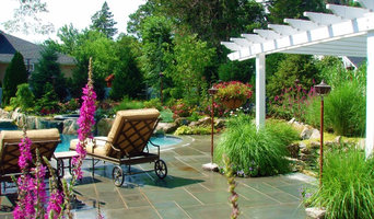 Roslyn landscape design Spa pool Long Island NY