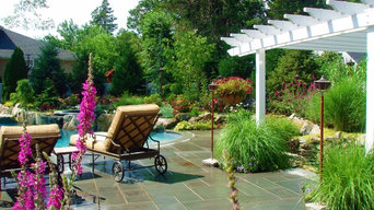 Roslyn landscape design Spa pool Long Island NY