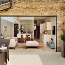 Contemporary Patio by Roundhouse