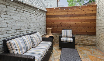 ROWHOUSE PATIO,  NW