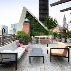 Contemporary Patio by Sundays Design