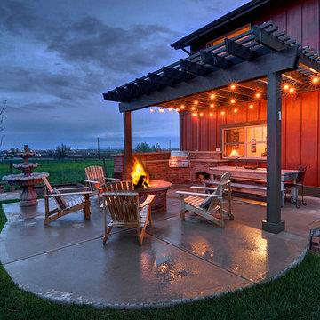 Rural Western Americana Home