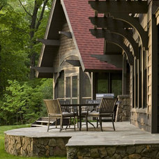 Rustic Patio by nancekivell home planning & design