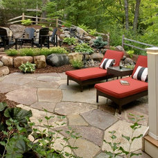 Traditional Patio by Magnolia Landscape & Design Co.