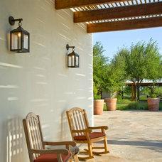 Mediterranean Porch by Leedy Interiors