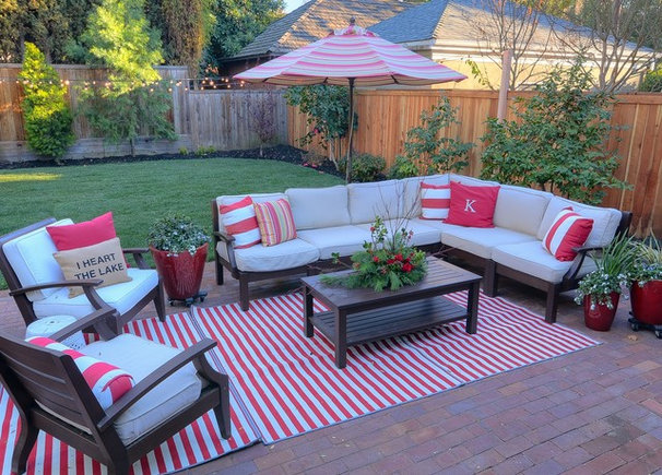 Traditional Patio by Kerrie L. Kelly