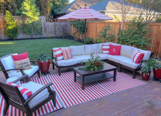 Traditional Patio by Kerrie Kelly Design Lab