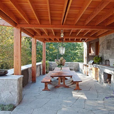 Contemporary Patio by Kalamazoo Outdoor Gourmet