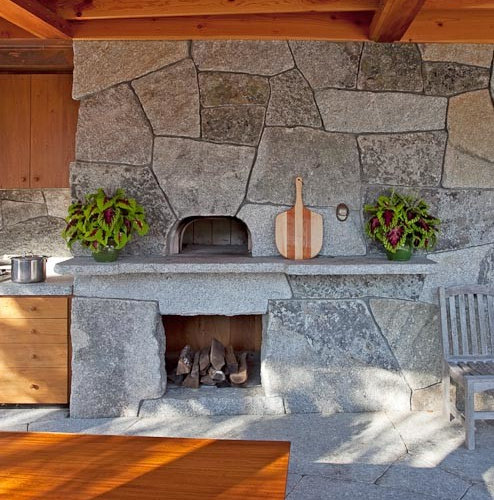 Rustic outdoor kitchen design ideas remodel pictures houzz for Outdoor kitchen ideas houzz