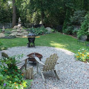Rustic Peastone Patio & Garden - World's End, Hingham