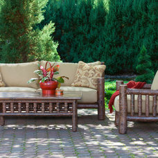 Rustic Patio by La Lune Collection