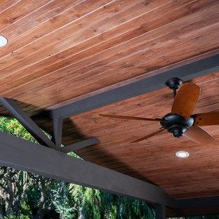 Rustic T&G Pine Ceiling