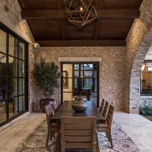 Rustic Villa patio
