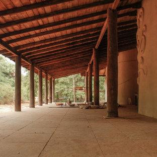 Inspiration för en orientalisk veranda