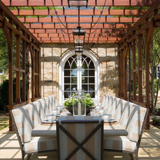 Traditional Patio by Anne Decker Architects, LLC