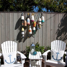 Beach Style Patio by Flagg Coastal Homes