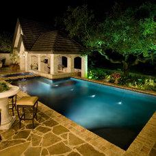 Traditional Patio by Sam Allen Custom Home Design