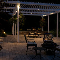 Traditional Patio by Nyce Gardens
