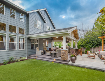 Sammamish Outdoor Living and Backyard Makeover